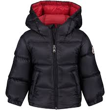 Picture of Moncler 4183549 baby coat navy