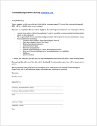 Letter Of Offer Template 8 Job Offer Letter Templates For Every Circumstance Plus