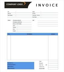 Ms Invoice Template