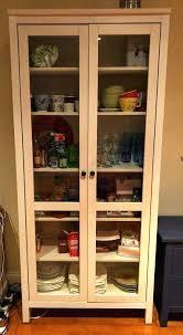 hemnes glass door cabinet fantastic glass door cabinet hemnes glass door cabinet with three drawers