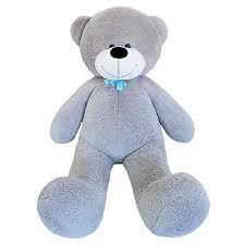"<b>Мягкая игрушка</b> ""<b>Мишка</b> Федор"", цвет серый арт.1266608 в ..."