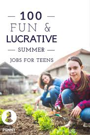 best ideas about teen summer jobs summer jobs from classic options like working in retail or babysitting to more imaginative options like developing an app or becoming