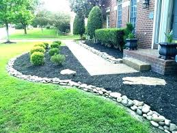 stone edging ideas garden border for flower beds bed small l