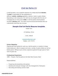 Sample Pastry Chef Cover Letter New Sous Job Description Resume