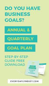 How To Create Annual Quarterly Plans Everydaylyndsey Com