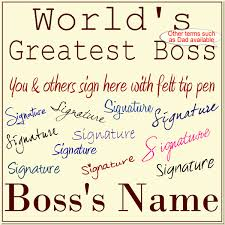 boss u0027s day 2016 tuesday october 16th gift ideas fromworld u0027s greatest boss