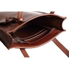 dust women s leather tote bag cuoio havana du105 ch