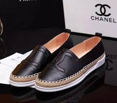 Buy Chanel St72632 35 40 Woman Fisherman Espadrilles Leather