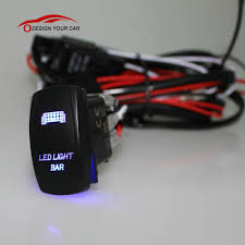 rv wiring harness promotion shop for promotional rv wiring harness Rv Wiring Harness led light bar laser rocker on off switch with relay wiring harness for car motorcycle rv boat trailer rv wiring harness