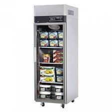 upright freezer 1 full glass doors