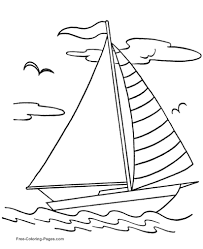 Small Picture Boat Coloring Pages