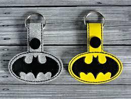 Free Batman Machine Embroidery Designs Batman Keychain Ith Embroidery Design Embroidery Designs