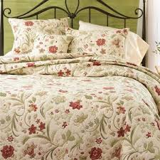 Quilt/Coverlet Bedding Sets | Birch Lane & Jacobean Cotton 3 Piece Vine Quilt Set Adamdwight.com