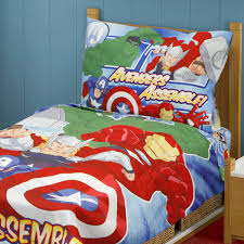 Marvel Comic Bedroom Marvel Comics Avengers Assemble Full Bedding Set