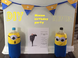 DIY minion birthday party decorations || #birthdayswithjordan episode 2 -  YouTube