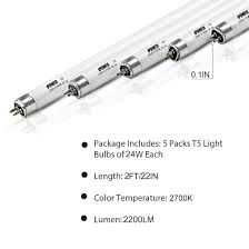Gro Lux Lights Walmart Ipower 2 Ft 22 2 In 24w T5 Fluorescent High Output Ho Grow