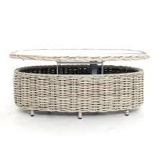 rattan garden furniture suite 5 piece