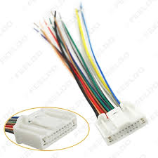feeldo car accessories car audio stereo wiring harness adapter wiring harness adapter for car stereo walmart at Wiring Harness Stereo