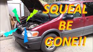 Pontiac Montana Harmonic Balancer Replacement -- No more squeal ...