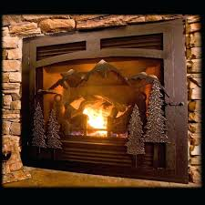 gas fireplace covers stylish custom fireplace screens with single doors gas fireplace covers for draft