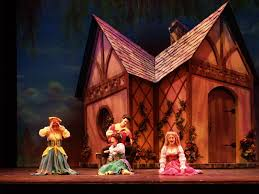 Beauty And The Beast Musical Set Design Gateway Playhouse Set Rentals Beauty And The Beast