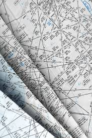 Aeronautical Navigation Charts Many Aeronautical Navigation Charts