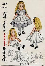 Vintage Sewing Patterns Custom PDF Digital Vintage Sewing Pattern Simplicity 48 Alice In