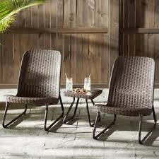 Patio furniture for small spaces Hideaway Quickview Wayfair Small Space Patio Sets Wayfair