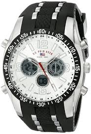buy u s polo assn men s black rubber analogue watch us9061 buy u s polo assn men s black rubber analogue watch us9061 online at low prices in amazon in