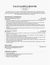 Summer Internship Resume Template Elegant Summer Internship Resume