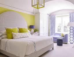 Beautiful Yellow And Purple Bedroom Design