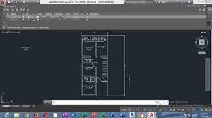 floor plan on autocad and coreldraw