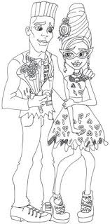 Small Picture Holt Hyde Monster High Coloring Page Coloring Pages of Epicness