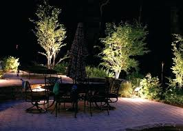 full image for outdoor garden led lights uk outdoor lighting effects using spike spotlights and spike