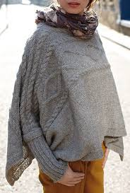 Free Knitted Poncho Patterns Simple Free Knitting Pattern For Madison Poncho This Cuffed Poncho Design