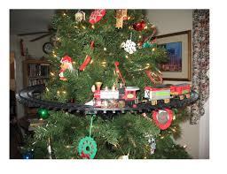 Christmas Light Mounts Nicky Bigs Novelties Light Sounds Animated Christmas Train Set Holiday Decoration Mounts In Tree