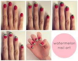 easy nail art designs with water