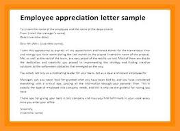 Letter Of Recognition Examples 9 10 Employee Recognition Letter Example Loginnelkriver Com