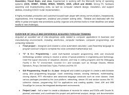 Resume Experience Resume Template Experience Sample Wonderful Format For Study 82