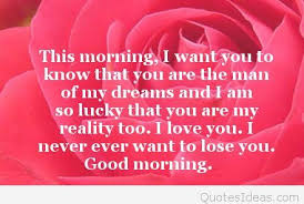 Good Morning Love Quotes For Him Unique Love Good Morning Quotes