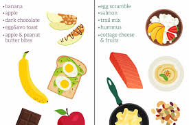 what to eat before early morning exercise