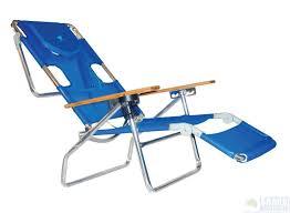 beachkit ostrich 3 in 1 aluminium beach lounger