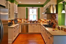 kitchens with white cabinets and green walls. Perfect Cabinets Green Kitchen Wall 30 Pictures  Inside Kitchens With White Cabinets And Walls N