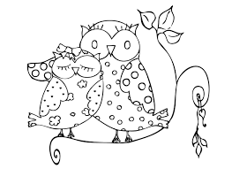 Small Picture Baby Owl Coloring Pages To Print Coloring Pages