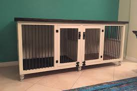 furniture pet crate. Dog Kennel, Shabby Rustic Finish, Crate, Pet Furniture, Bed Furniture Crate O
