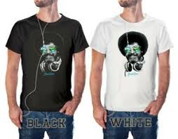 Ross Size Chart Details About Dj Bob Ross Headphone Shades Officially Licensed T Shirt S 3xl Black White