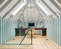 design ideas for home office. Inspiration For A Medium Sized Industrial Study In Cambridgeshire With Grey Walls, Built- Design Ideas Home Office