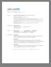 Free Modern Resume Templates Google Docs Free Resume Templates Doc Free Resume Template For Google Docs