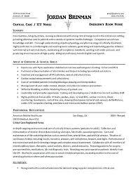 How To Write A Nursing Resume Sample Travel Nursing Resume Nursing