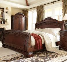 Porter Bedroom Set Ashley Furniture Millennium By Ashley Serengeti King Sleigh Bed Solid Furniture